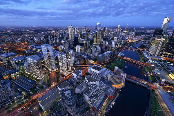Batnman Hill Melbourne - Hero Aerial