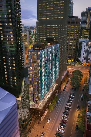 Bouverie St Apartments - Grocon