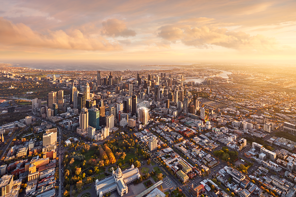 Conservatory Melbourne Aerial